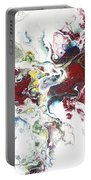 The Breath Of The Crimson Dragon Portable Battery Charger by Joanne Smoley