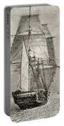 The Brig Hms Beagle From Journal Of Portable Battery Charger