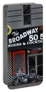 The Broadway 50 50 Portable Battery Charger
