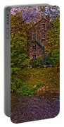 The Bronx River Stone Mill Portable Battery Charger