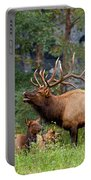 The Bugling Bull Elk Portable Battery Charger
