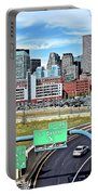 The Buildings Of Boston Portable Battery Charger