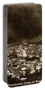 The Burning Of San Francisco Panoramic View Of San Francisco From Twin Peaks April 1906 Portable Battery Charger