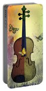 The Butterflies And The Violin Portable Battery Charger