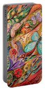 The Butterflies On Wind Portable Battery Charger