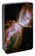 The Butterfly Nebula Portable Battery Charger