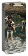 The Calling Of Saint Peter And Saint Andrew Portable Battery Charger