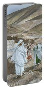 The Calling Of St. Andrew And St. John Portable Battery Charger by Tissot