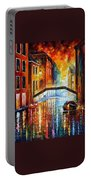 The Canals Of Venice Portable Battery Charger