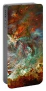 The Carina Nebula Panel Number Three Out Of A Huge Three Panel Set Portable Battery Charger