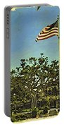 The Casements Flag Flying Portable Battery Charger