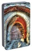 The Castle Door - La Porta Del Castello Portable Battery Charger