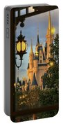 The Castle From The Palace Portable Battery Charger