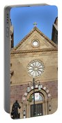The Cathedral Basilica Of St. Francis Of Assisi, Santa Fe, New M Portable Battery Charger