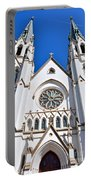 The Cathedral Of St. John The Baptist Portable Battery Charger