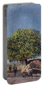 The Chestnut Tree At Saint-mammes Portable Battery Charger