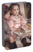 The Children Of Martial Caillebotte Portable Battery Charger