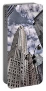 The Chrysler Building In Nyc Usa Portable Battery Charger