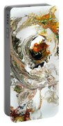 The Circle Of Life Portable Battery Charger by Joanne Smoley