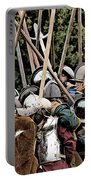 The Clash Of The Pikemen Portable Battery Charger