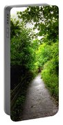 The Cliff Path At Lynton 4 Portable Battery Charger