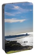 The Cliffs, Ocean And Sky At La Jolla, California Portable Battery Charger