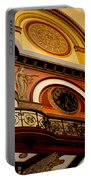 The Clock In The Union Station Nashville Portable Battery Charger