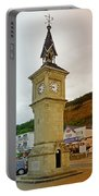 The Clock Tower At Shanklin Portable Battery Charger