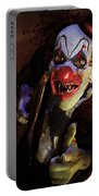 The Clown Portable Battery Charger by Mary Hood