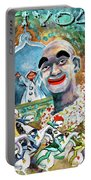 The Clown Of Tivoli Gardens Portable Battery Charger