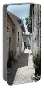 The Cobbled Back Streets Surrounding Old Marmaris Portable Battery Charger