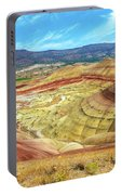 The Colorful Painted Hills In Eastern Oregon Portable Battery Charger