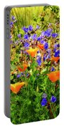 The Colors Of Spring  Portable Battery Charger