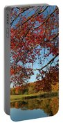 The Comfort Of Autumn Portable Battery Charger