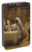 The Communion Of The Apostles Portable Battery Charger