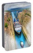 The Corinth Canal  Portable Battery Charger