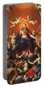 The Coronation Of The Virgin 1626 Portable Battery Charger