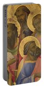 The Coronation Of The Virgin Portable Battery Charger by Lorenzo Monaco