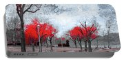 The Crimson Trees Portable Battery Charger