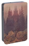 The Cross In The Mountains 1812  By Caspar David Friedrich 1774-1840 Portable Battery Charger