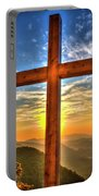 The Cross The Choice Pretty Place Chapel Greenville South Carolina Art Portable Battery Charger