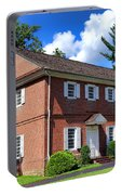 The Crosswicks Meeting House In Chesterfield  Portable Battery Charger