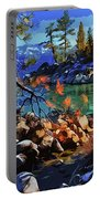 The Crystal Waters Of Lake Tahoe Portable Battery Charger