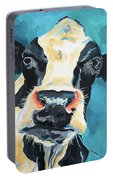 The Curious Cow Portable Battery Charger