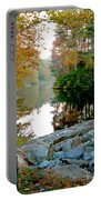The Dam At Peaks Of Otter Portable Battery Charger