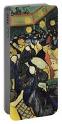 The Dance Hall At Arles Portable Battery Charger by Vincent Van Gogh
