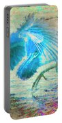 The Dance Of The Blue Heron Portable Battery Charger