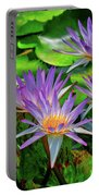 The Dance Of The Lillies Portable Battery Charger