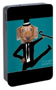 The Dancing Wiener Dog Portable Battery Charger