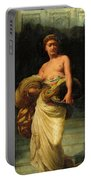 The Daughter Of Herodias, Salome Portable Battery Charger